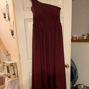 Maroon Special Occasion Dress